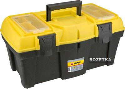Ящик для инструмента TOPEX с лотками 22'' (79R126)