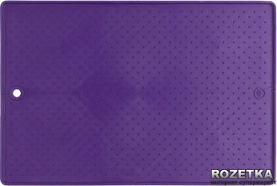 Малий антиковзаючий килимок під миски для собак і кішок Dexas Фіолетовий (dx30673)