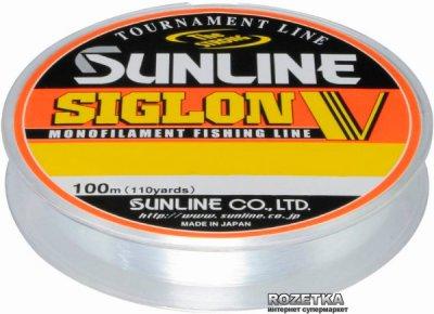 Леска Sunline Siglon V 100 м #0.15/0.063 мм 0.5 кг (16580494)