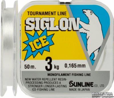 Леска Sunline Siglon Ice 50 м #1.0/0.165 мм 3 кг (16580313)