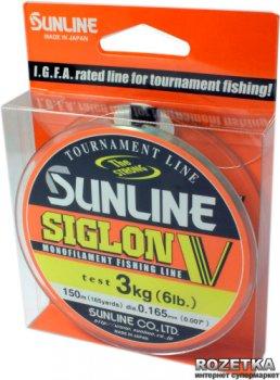 Леска Sunline Siglon V 150 м #1.0/0.165 мм 3 кг (16580503)
