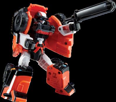 Игрушка-трансформер Tobot Атлон мини Тобот Амбулан (301080) (8801198010800)