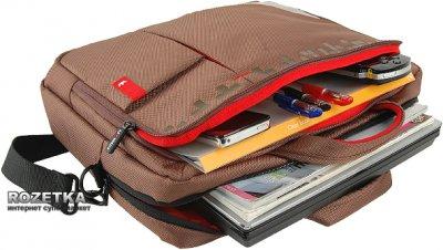 """Сумка для ноутбука Crown Genuine 15.6"""" Brown (CCG4415BN)"""