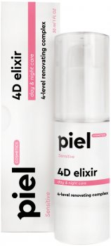 4-х уровневый активирующий комплекс Piel Specialiste 4D elixir: DNA Of Youth 50 мл (4820187880365)