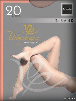Колготки Intuicia T-Band 20 Den Antrazite