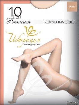 Колготки Intuicia Premium T-Band Invisible 10 Den Daino