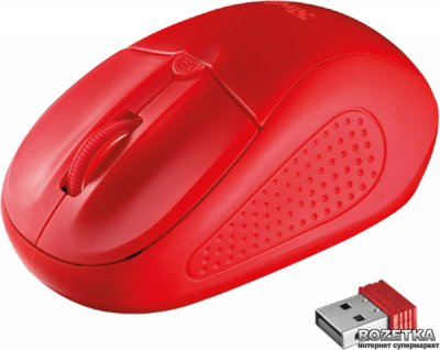 Мышь Trust Primo Wireless Red (TR20787)