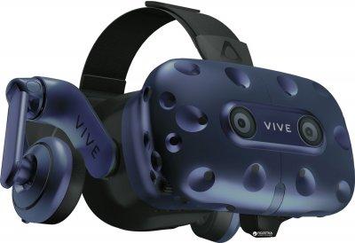 Окуляри віртуальної реальності HTC VIVE PRO Starter Kit Combo (система VIVE + шолом VIVE PRO) (99HAPY010-00)
