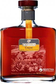 Коньяк Martell Cohiba 0.7 л 43% в подарочной упаковке (3219820003796)