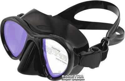 Маска с просветленными стеклами Marlin Hunter Black (10304)