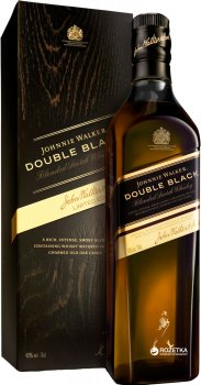 Виски Johnnie Walker Double Black 0.7 л 40% в подарочной упаковке (5000267116303)