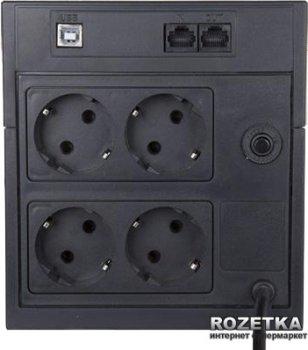 Джерело безперебійного живлення Powercom RPT-2000AP Schuko