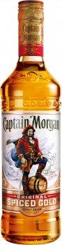 Ромовий напій Captain Morgan Spiced Gold 1 л 35% (5000299223055)