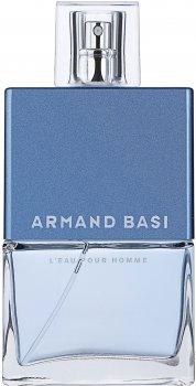 Туалетная вода для мужчин Armand Basi L'Eau Pour Homme 75 мл (8427395900197)