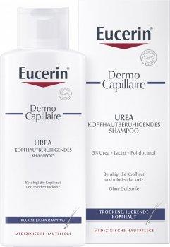 Успокаивающий шампунь Eucerin DermoCapillaire для сухой и раздраженной кожи головы 250 мл (4005800037535)