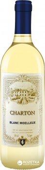 Вино Charton Blanc Moelleux белое полусладкое 0.75 л 10% (3500610033421)