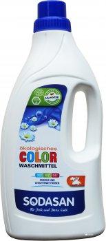 Органическое жидкое средство для стирки Sodasan Color 1.5 л (4019886015066)
