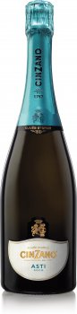 Вино ігристе Cinzano Asti біле солодке 0.75 л 7% (8000020000280)