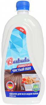 Универсальное моющее средство для пола Barbuda с ароматом хвои 1 кг (4820174690489)