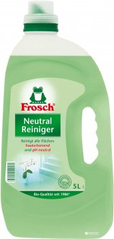 Нейтральное очищающее средство Frosch 5 л (4001499115578)