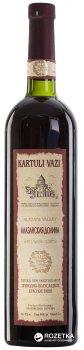 Вино Kartuli Vazi Алазанська долина червоне напівсолодке 0.75 л 11% (4860001680641)