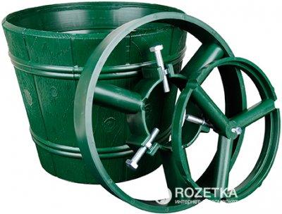 Стійка для ялинки Form-Plastic Відро 29.5 см Зелена (5907474317960)
