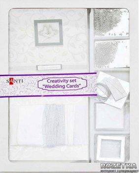 Набір для творчості Santi Весільні листівки укр. мова 14.5х14.5 см (952223) (5009079522234)