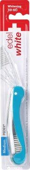 Дорожная отбеливающая зубная щётка Edel White Синяя (130-117-2)