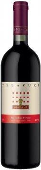 Вино Марани Телавури красное полусухое 0.75 л 12% (4867616020442)