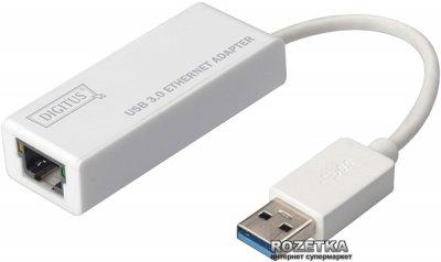 Адаптер Digitus USB 3.0 to Gigabit Ethernet White (DN-3023)