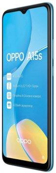 Мобильный телефон OPPO A15s 4/64GB Mystic Blue
