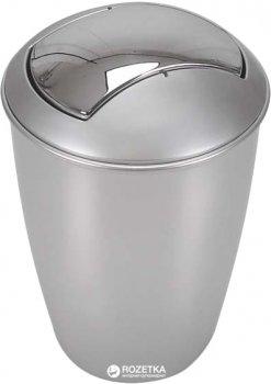 Відро для сміття Spirella Atlanta 30x19 см Сріблясте (10.04265)