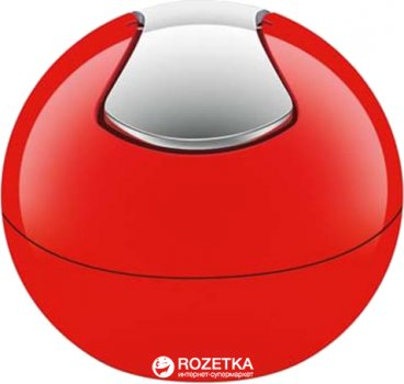 Відро для сміття Spirella Plastic Bowl 14x16 см Червоне (10.14967)
