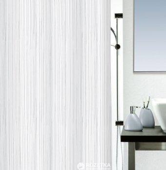 Шторка для ванної Spirella Raya 180x200 Polyester Бiла (10.14418)