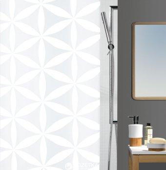 Шторка для ванної Spirella Rania 180x200 Polyester Бiла (10.10418)