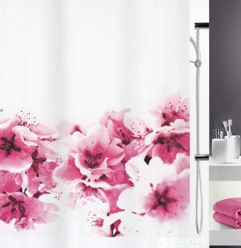 Шторка для ванної Spirella Amanda 180x200 Polyester Рожева (10.15174)
