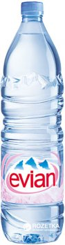 Упаковка минеральной негазированной воды Evian 1.5 л х 6 бутылок (3068320085005)