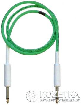 Інструментальний кабель Bespeco DRAG500 5 м Fluorescent Green (23-2-4-31)