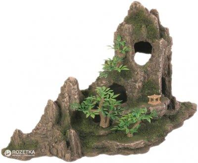 Грот Trixie Скалы с пещерой и растениями 27.5 см 8854 (4011905088549)