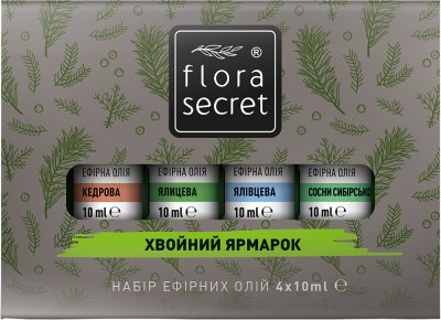 Набор эфирных масел Flora Secret «Хвойный ярмарок» (4820174890308)