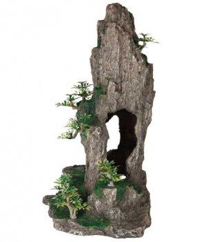 Грот Trixie Скала с пещерой и растениями 23.5 см 8858 (4011905088587)