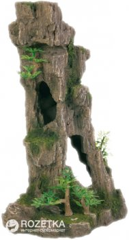 Грот Trixie Скалы с пещерой и растениями 17 см 8857 (4011905088570)