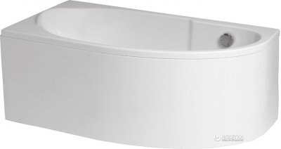 Ванна акриловая POLIMAT MIKI 145х85 L + ножки