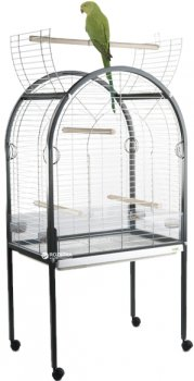 Клетка для птиц Imac Amanda 85 х 54 х 155 см Хром (8021799403324)