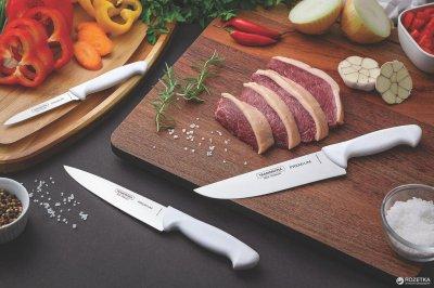 Кухонний ніж Tramontina Master для м'яса 203 мм з виступом White (24620/188)