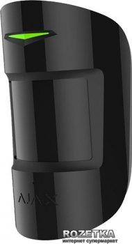 Бездротовий датчик руху та розбиття скла Ajax СombiProtect Black (000001133)
