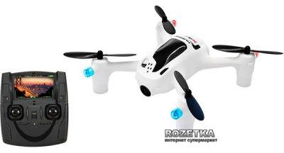 Квадрокоптер Hubsan X4FPV 2.4Ghz + 5.8Ghz RTF с HD камерой Белый (H107D+ FPV HD Camera)(6922572405059)