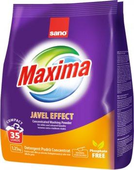 Стиральный порошок Sano Maxima Javel Effect 1.25 кг (7290000288109)