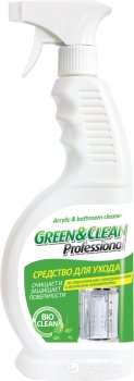 Засіб для догляду за акриловими поверхнями Green & Clean Professional 650 мл (4823069700720)