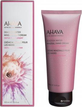 Крем для рук Ahava Минеральный Кактус & Розовый перец 100 мл (697045153404)